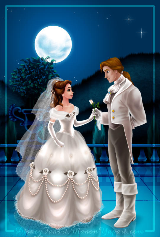 belle and the prince 39 s wedding by manony on deviantart