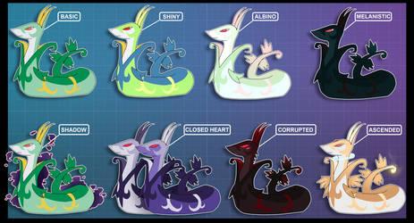Shadowlocke Pokemon Variations