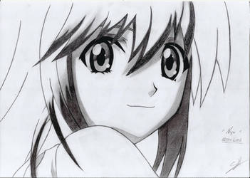 Nyu (Elfen Lied) by Shira-Hisa