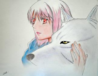 Rain Wolf by Shira-Hisa