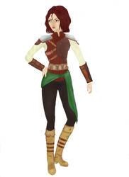 Character N1, ''Ranger girl'' by Shira-Hisa