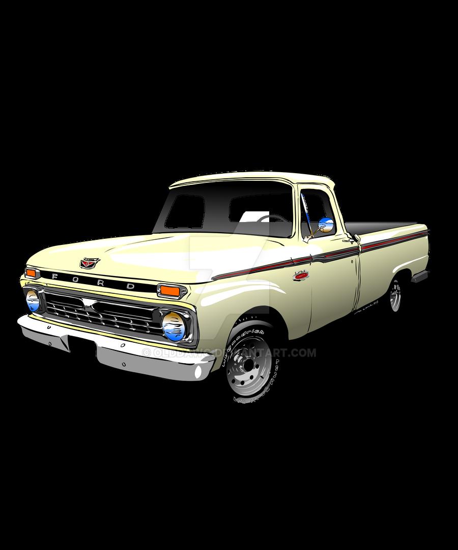 1966 Ford F100 Custom Cab By OldDawg On DeviantArt
