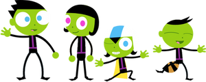 PBS Kids Digital Art - The PBS Kids in Scuba Gear