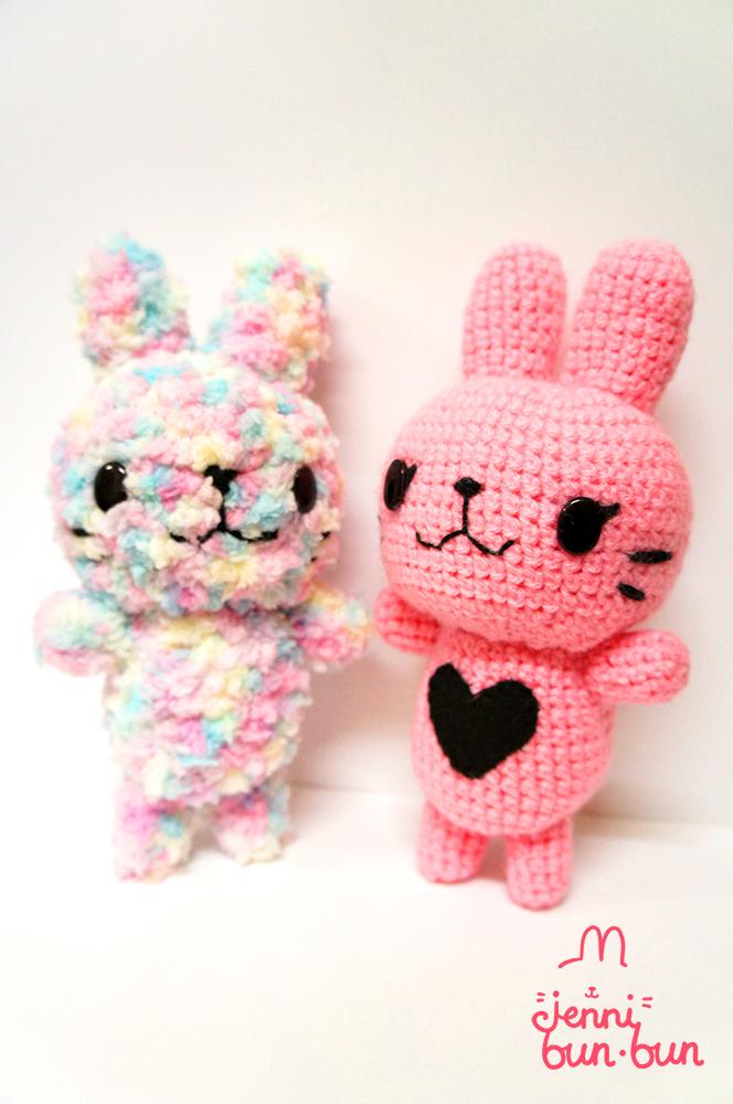 Jenni bun.bun and new friend! by lolita-candy-bear