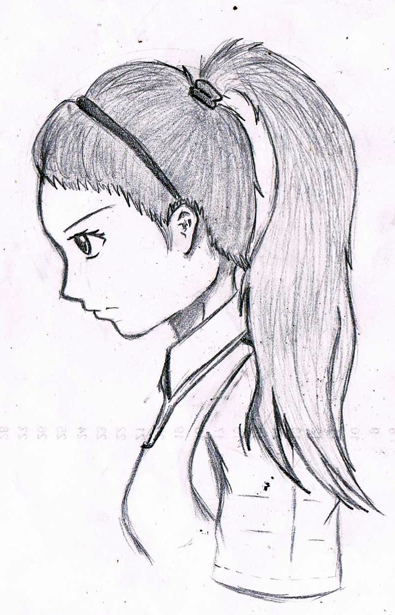 A drawing of my classmate xd by xalimur on deviantart for Cartoons to draw when your bored