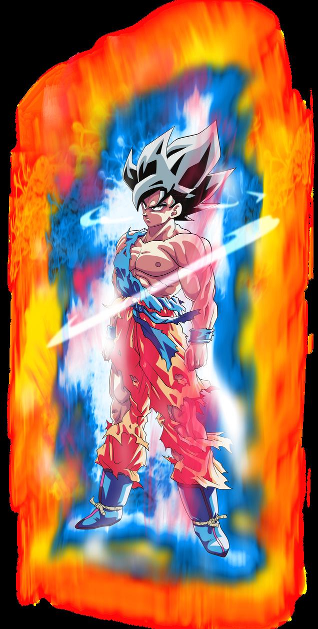 Goku SSJ (Namek) - Ultra Instinct Aura* Palette #1 by BenJ ...