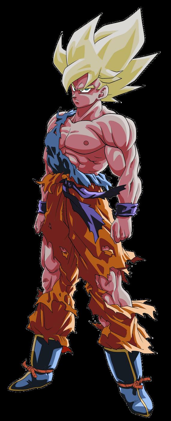 Goku ssj namek super saiyan dbz palette by benj san on deviantart - Super san dragon ball z ...