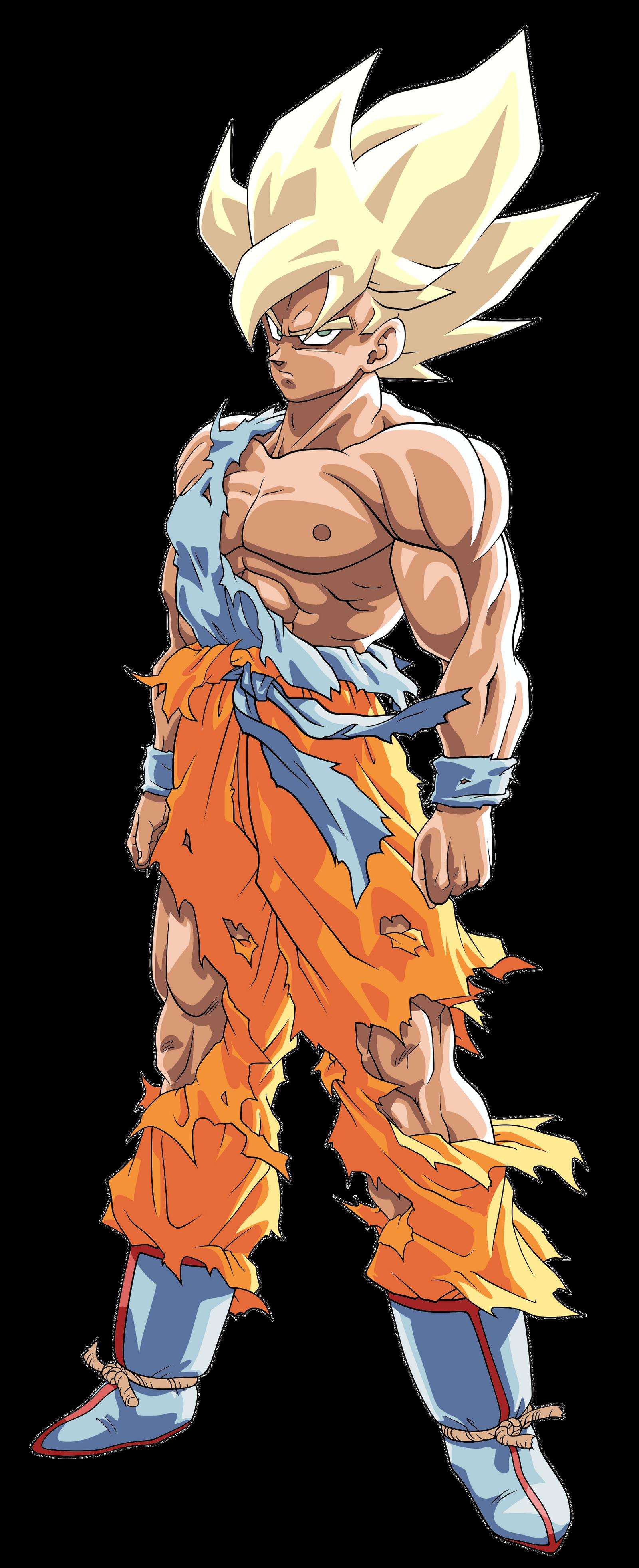 Goku ssj namek ssj toriyama palette by benj san on deviantart - Super san dragon ball z ...
