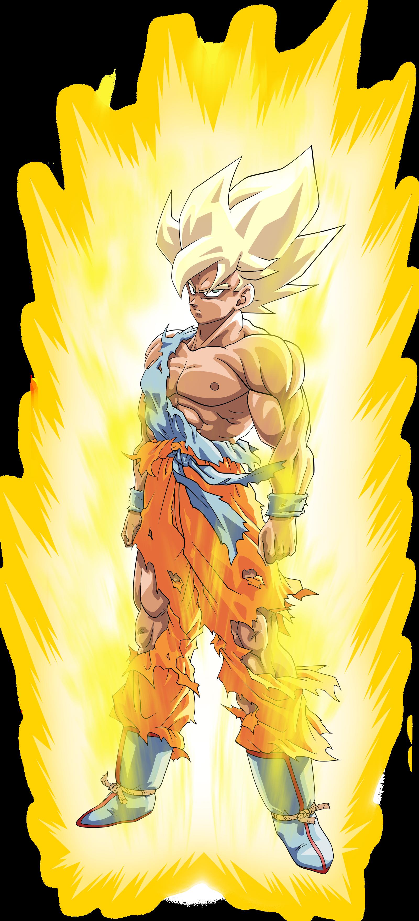 Goku ssj namek ssj toriyama aura palette by benj san on deviantart - Super san dragon ball z ...