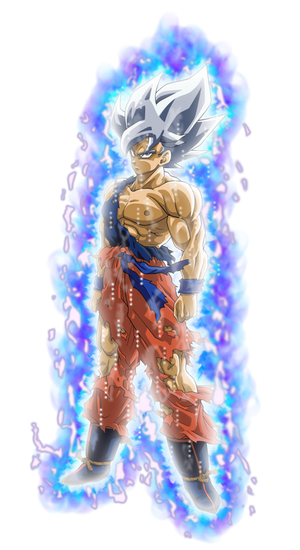 Goku SSJ (Namek) - UI Mastered Aura Palette #1
