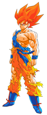 Goku SSJ (Namek) - SSG (Toriyama) Palette