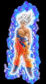 Goku SSJ (Namek) - UI Mast (Toriyama) Aura Palette
