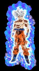 Goku Mastered Ultra Instinct Aura