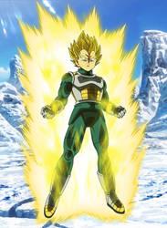 Vegeta Super Saiyan (DBS : Broly) Aura Palette