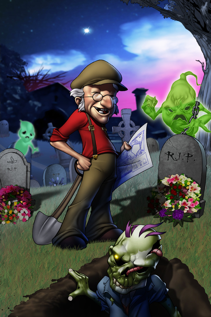 Mr Jones Graveyard Shift by Dominic-Marco