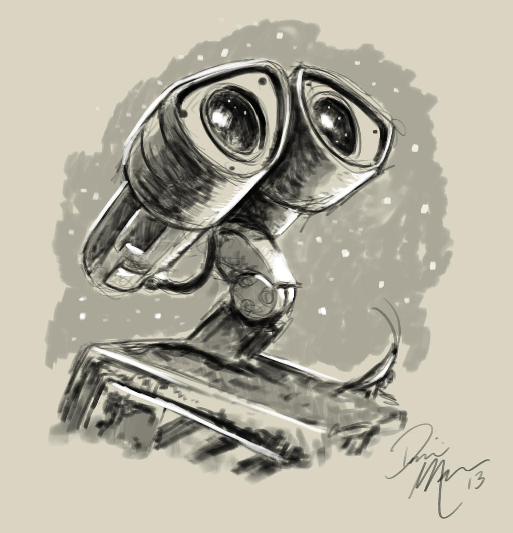 Uncategorized Wall-e Mask wall e warm up sketch by dominic marco on deviantart marco
