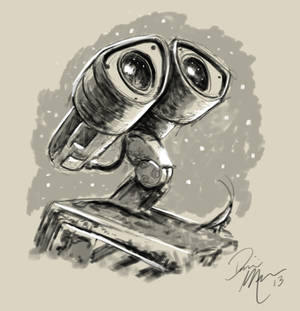 Wall-e warm-up sketch