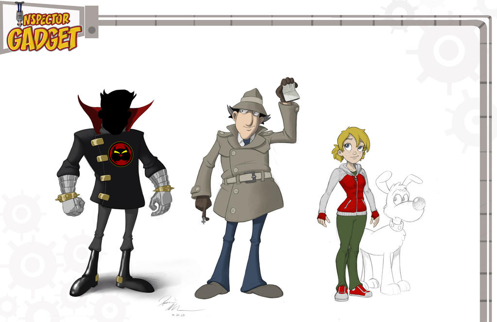 Inspector Gadget Designs by Dominic-Marco on DeviantArt