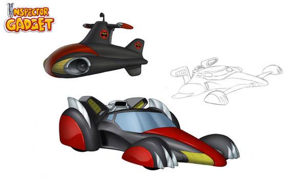 MAD Vehicles