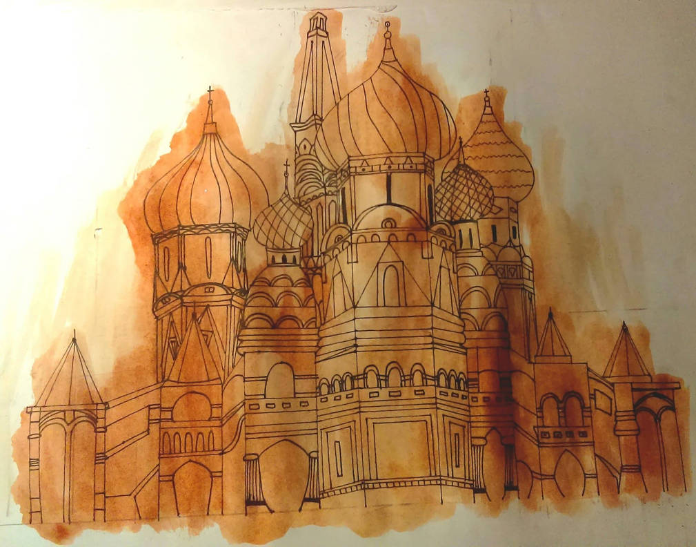 Moscow Church by wiku51
