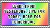 Learn, Live, Hope by pandora426