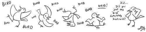 anagram_search('bird') by Hexaditidom