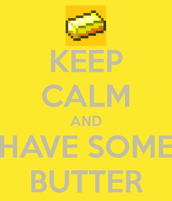 Minecraft butter ore wallpaper