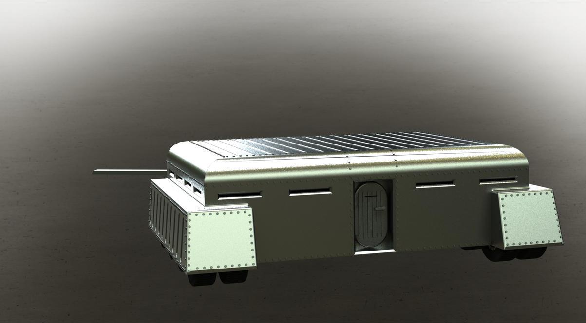 Mobile bunker by mcqeulinferenzio on deviantart - Construction abri anti atomique ...