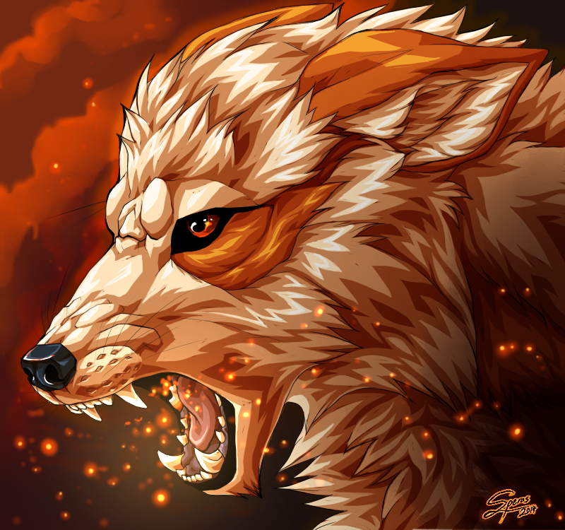 Arcanine RK9 by Speras