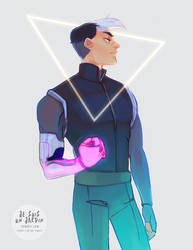 Space lad shiro by GardenofSpice