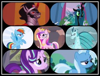 Ponies of Bruma by TwistedWizzro343