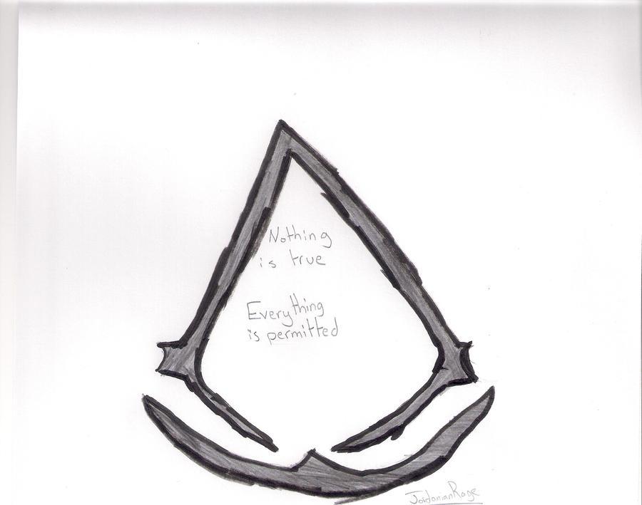 assassins creed logo by jordanianrage on deviantart. Black Bedroom Furniture Sets. Home Design Ideas