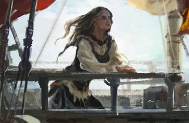 Speedpaint: At Sea by jubliantlaine