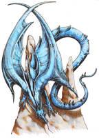 Blue Dragon by graikfaik