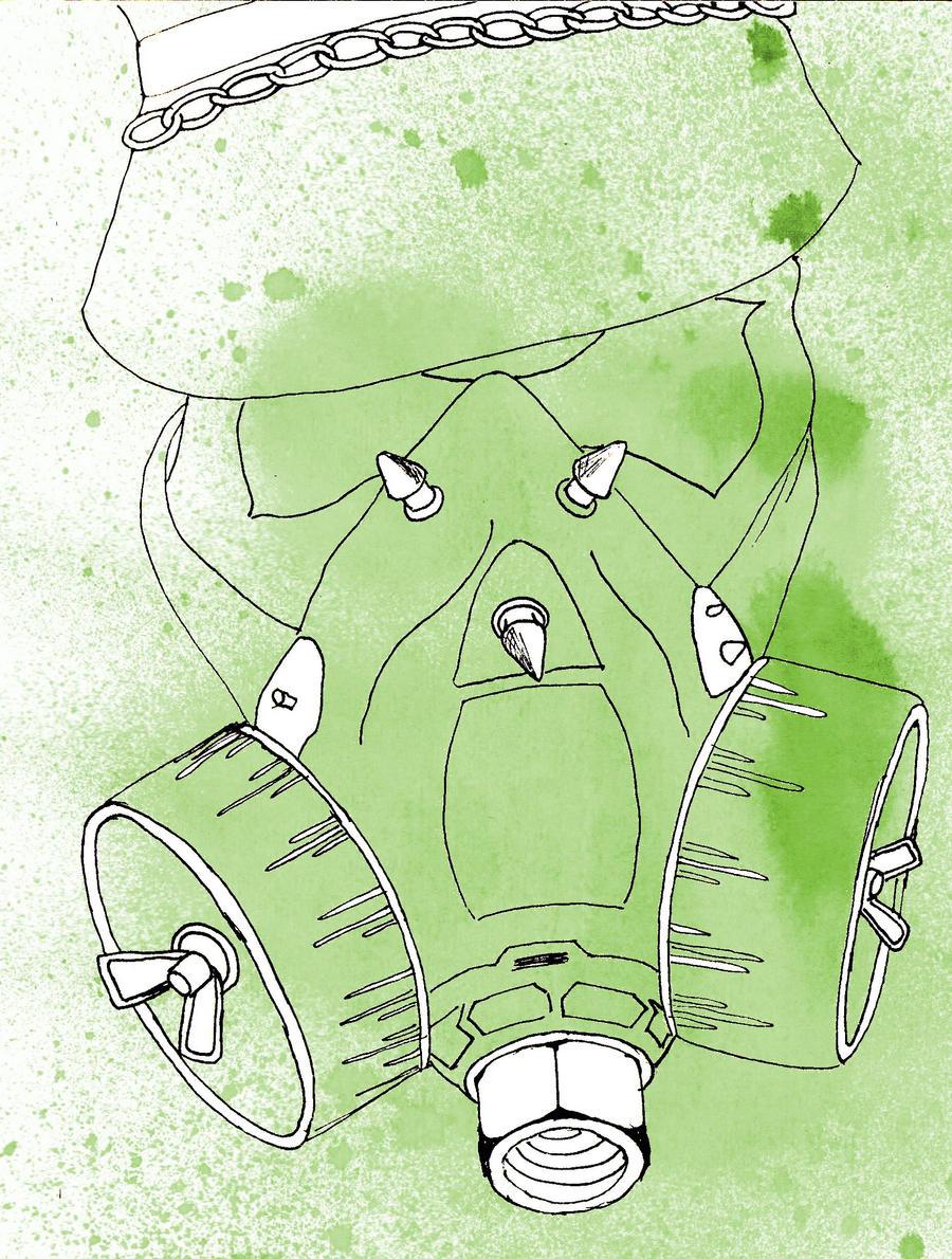 Gas Mask by t-e-z-z