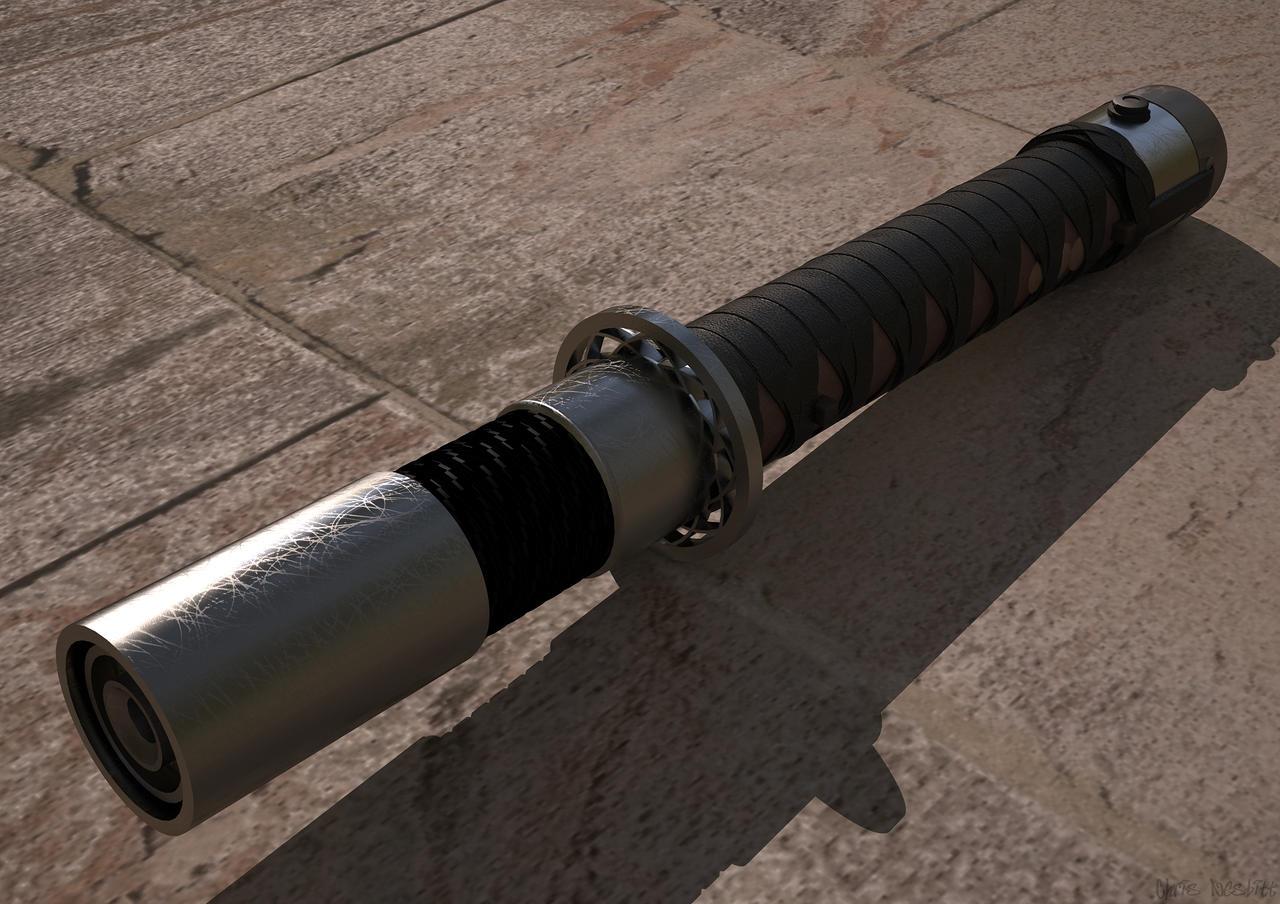 Jaecyn Riddick's Lightsaber by ChrisNs