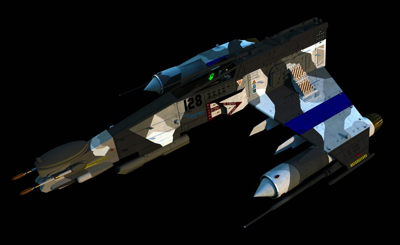 Recon E-Wing, Mk 5 by ChrisNs