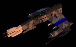 E-Wing, Electronic Warfare Version by ChrisNs