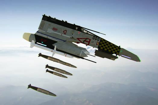 E-Wing Bomb Run