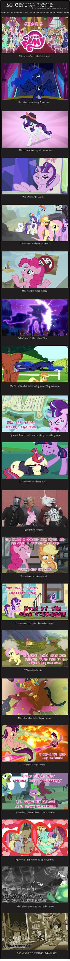 MLP SEASON 5: Screencap Meme by Eriarte