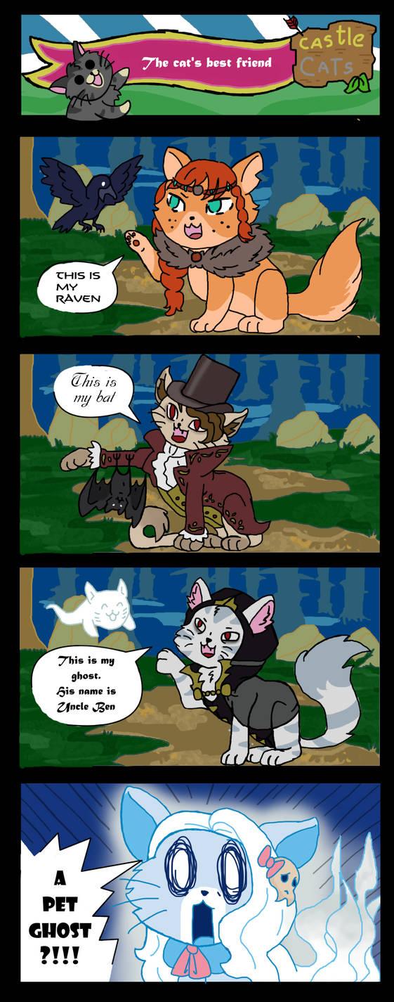 Castle cat comic