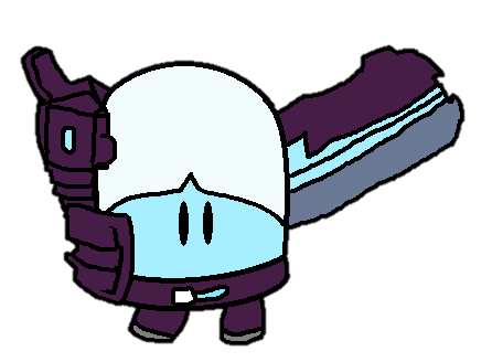 Nitrome - The Test Subject, Blue by Keoen