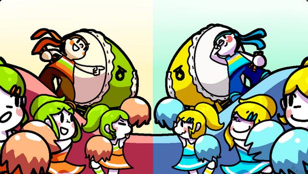 It's time to d-d-d-d-duel!