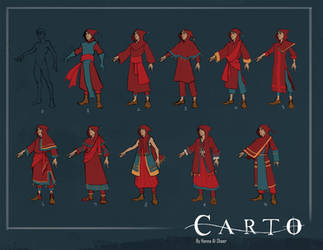 Carto: Outfit Iterations by yoyokat55