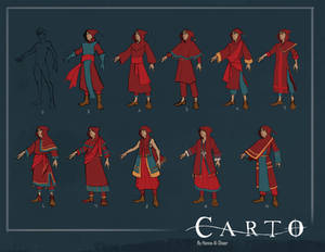 Carto: Outfit Iterations
