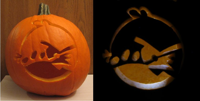 Angry Carving by BlazeBracard