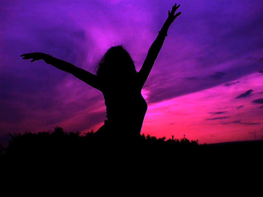 Purple Freedom by 6elA