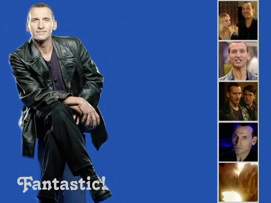 doctor who wallpaper. The Ninth Doctor - Wallpaper