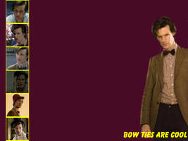 The Eleventh Doctor -Wallpaper by pfeifhuhn