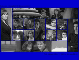 Doctor and Donna-Wallpaper by pfeifhuhn